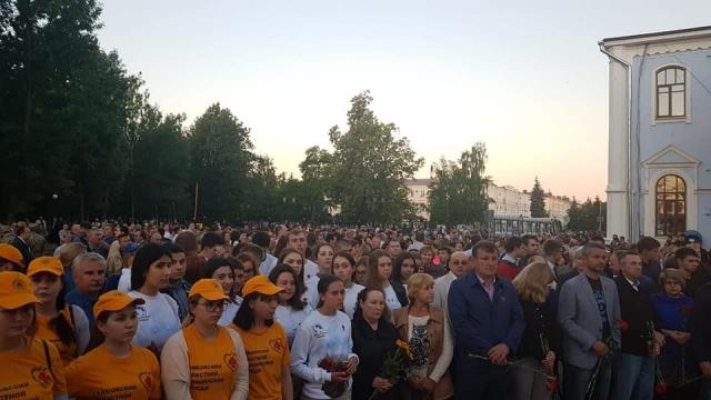 В Тамбовской области в акции «Свеча памяти» приняли участие 20 тыс. человек