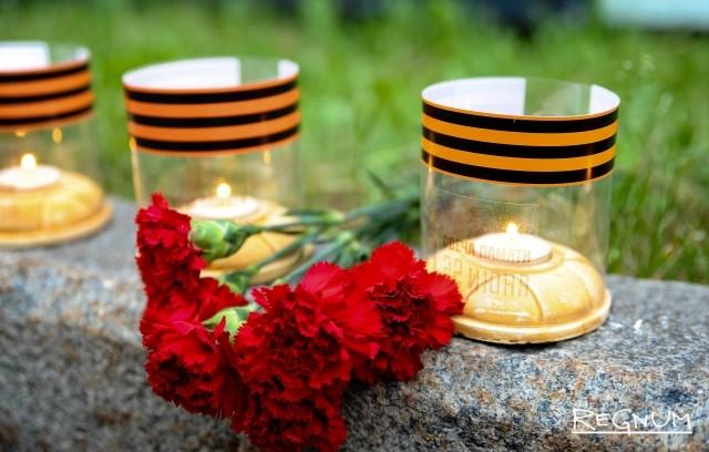 День скорби в столице Коми: похороны солдата, свечи и стихи