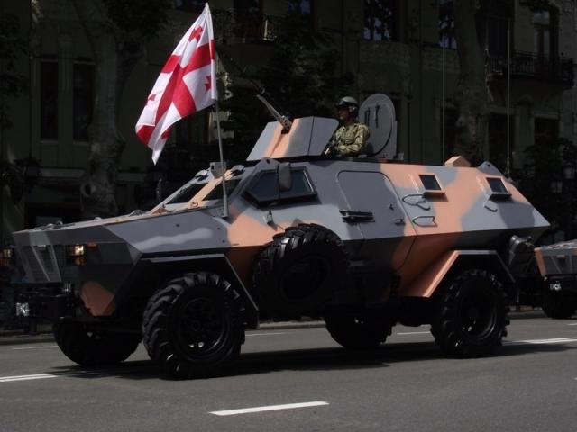 Грузия приняла участие в выставке военной техники Eurosatory 2018