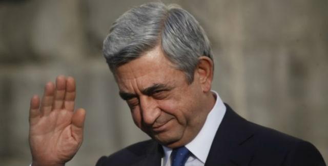 В Армении возбуждено уголовное дело против бывшего начальника охраны Сержа Саргсяна