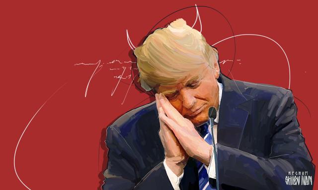 CNN: 42% американцев выступают за импичмент Дональду Трампу