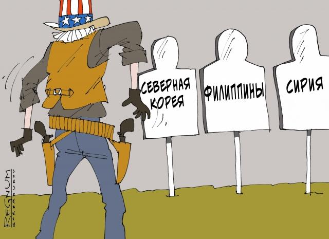 Мишени США. Сирия на очереди