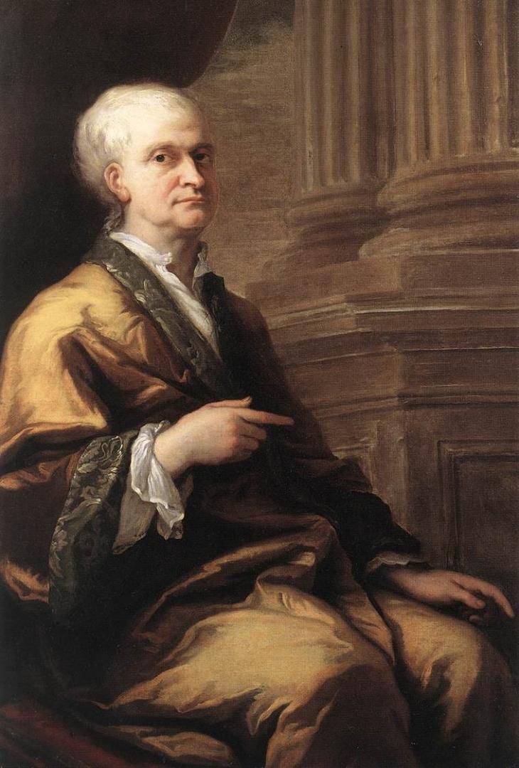 Джеймс Торнхилл. Исаак Ньютон. 1712