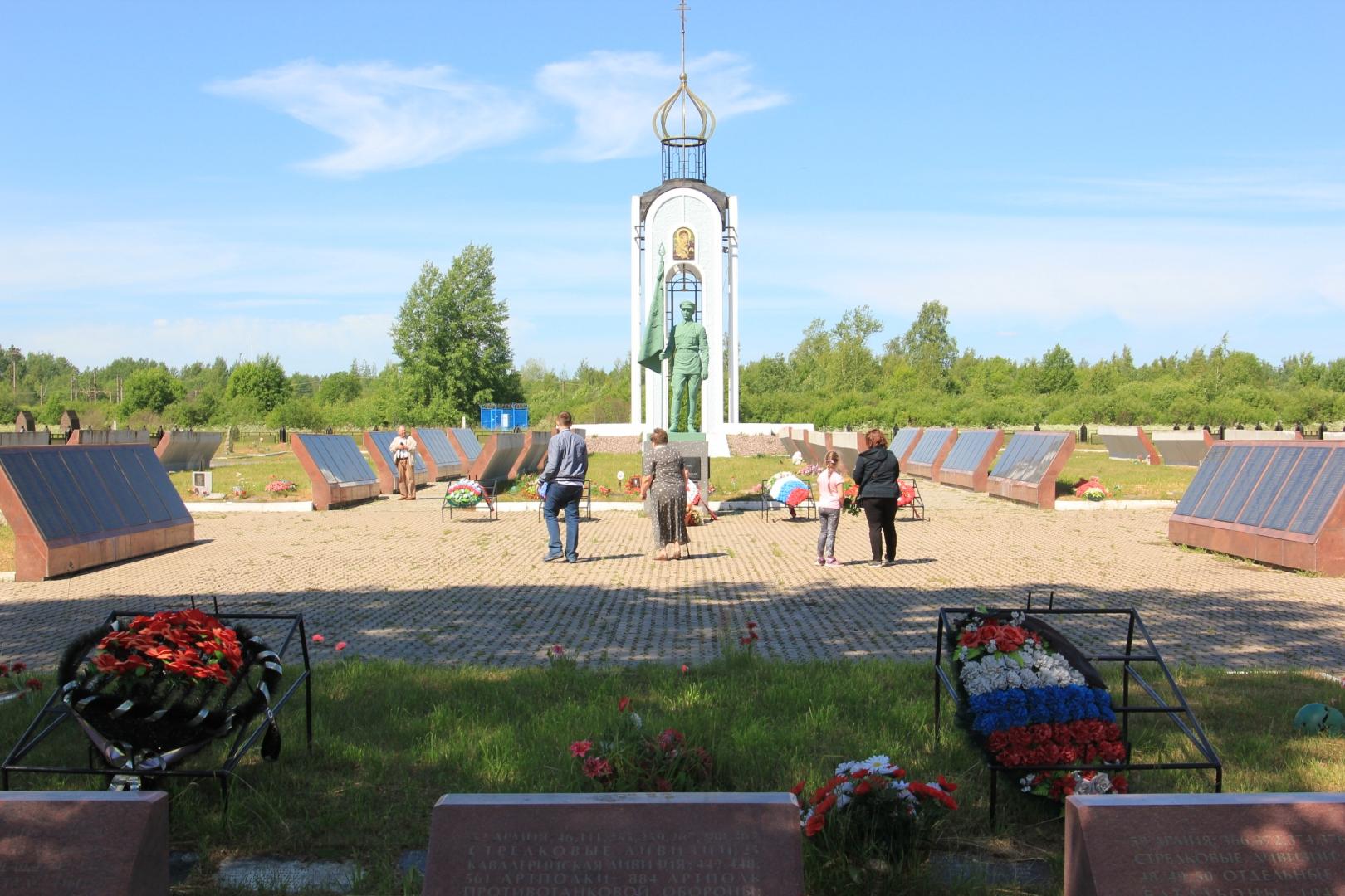 Мемориал в деревне Мясной бор