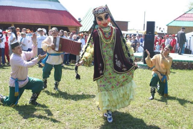 Сабантуй в Татарии