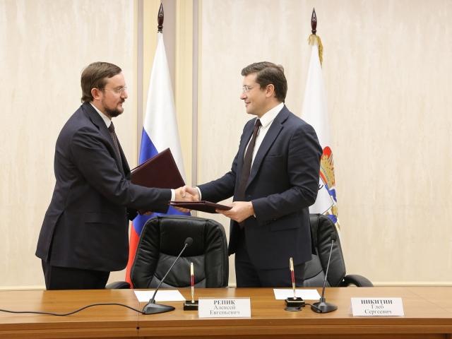 Алексей Репик и Глеб Никитин
