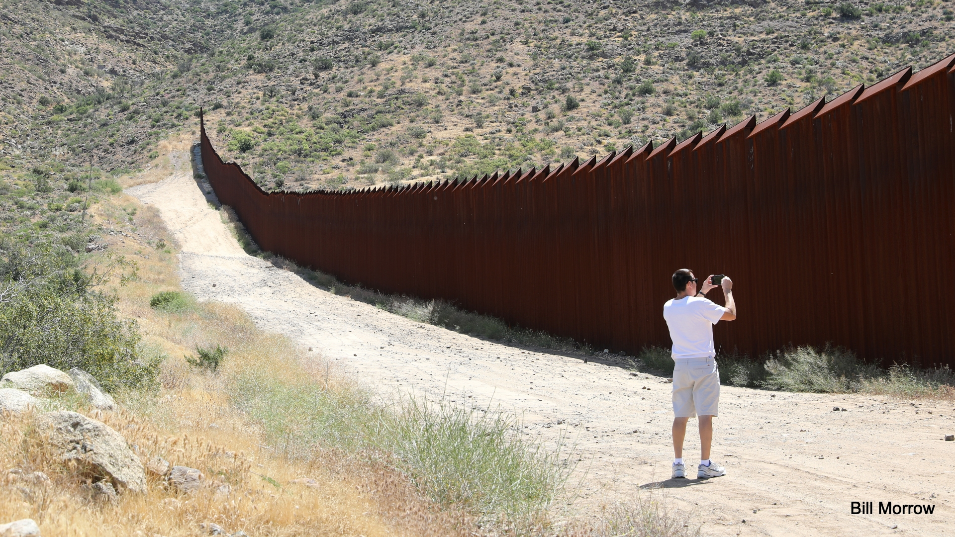 Американо-мексиканская пограничная стена