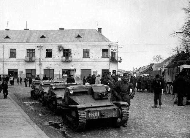 Венгерские войска оккупируют Подкарпатье. 1939