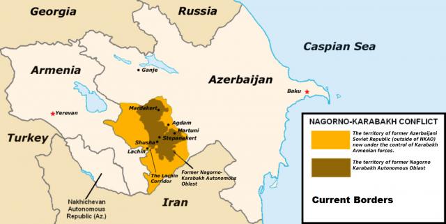 Роль и фактор Ирана в судьбе Нахичевани продолжают оставаться в тени