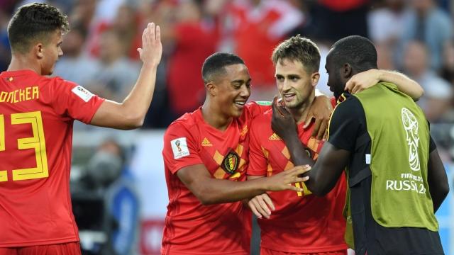 Гол Аднана Янузая принёс Бельгии минимальную победу над Англией