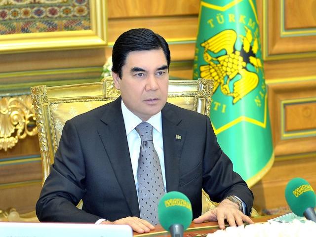 Владимир Путин поздравил президента Туркмении с днём рождения