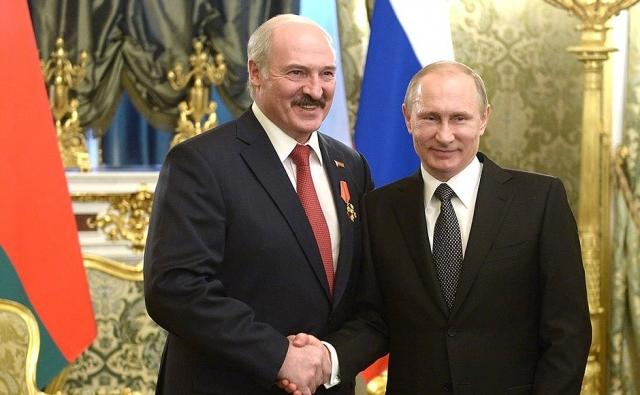 Путин пригласил Лукашенко посетить финальный матч ЧМ-2018