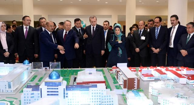 Посещение Международного казахско-турецкого университета им. Х.А.Яссауи