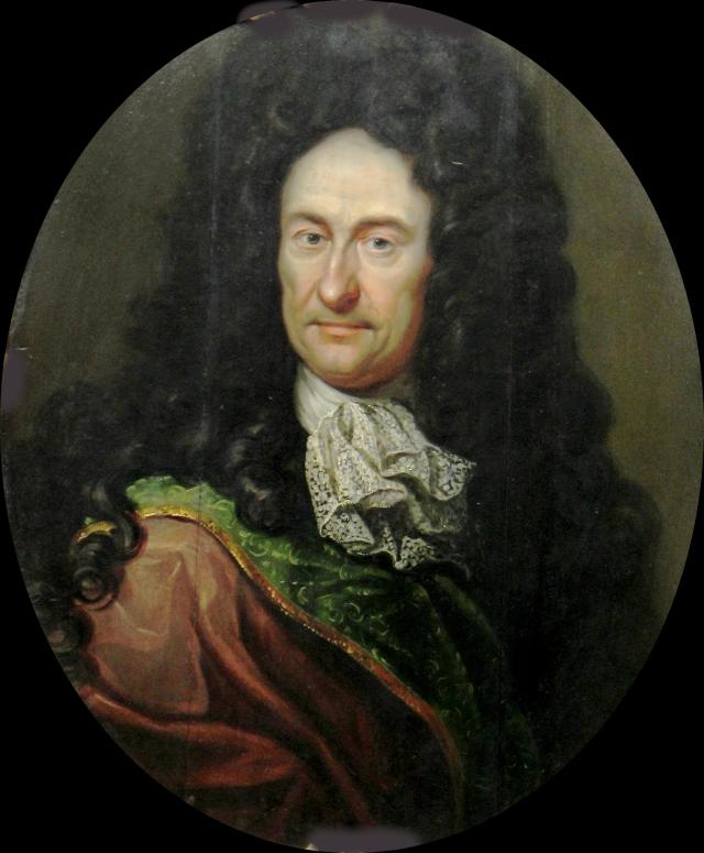 Иоганн Фридрих Вентцель. Портрет Лейбница. 1700