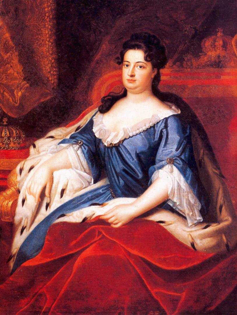Фридрих Вильгельм Вайдеман. София Шарлотта Ганноверская. 1705
