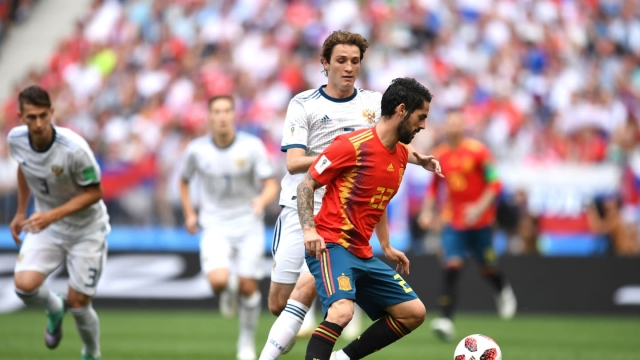 Россия уже проигрывает Испании