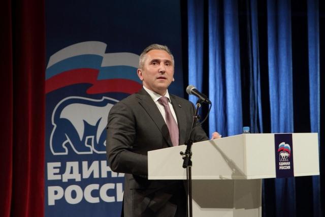 Александр Моор на встрече участников предварительного голосования