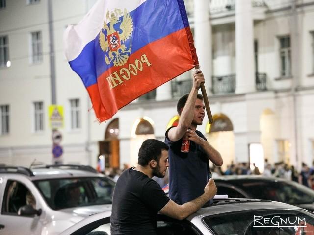 Россия в четвертьфинале!