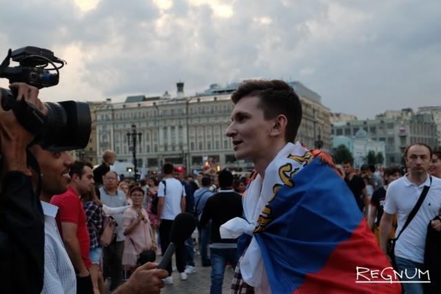 Интервью гостей столицы России