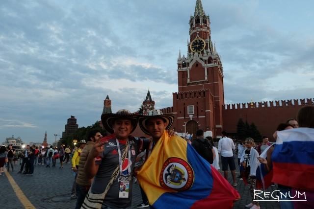 Болельщики из Колумбии