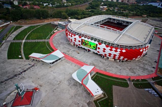 В районе стадиона «Спартак» введут ограничения движения в связи с ЧМ-2018