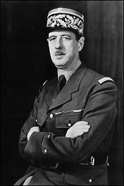 Шарль де Голль. 1942