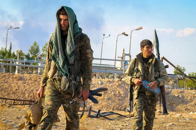 Курды Сирия