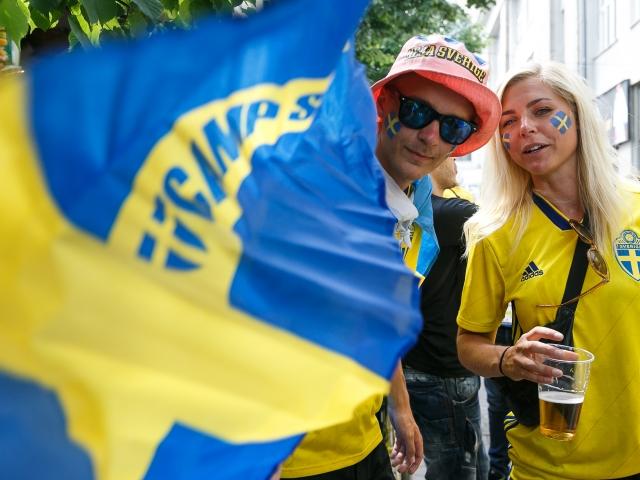 Шведские и швейцарские болельщики — в меньшинстве в Петербурге