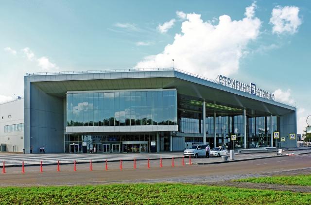 Нижний Новгород. Аэропорт Стригино, новый терминал