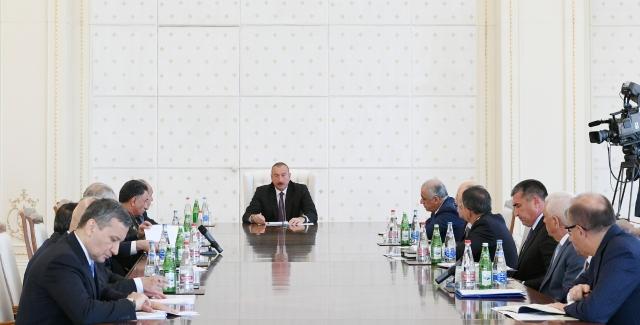 Совещание в связи с ситуацией в энергетической системе Азербайджана