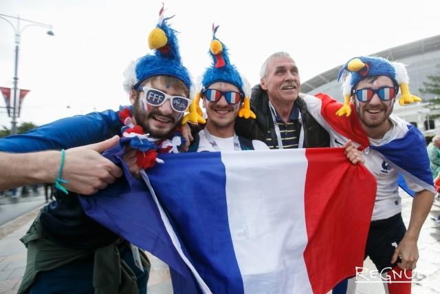 Французские болельщики пройдут маршем по Нижнему Новгороду