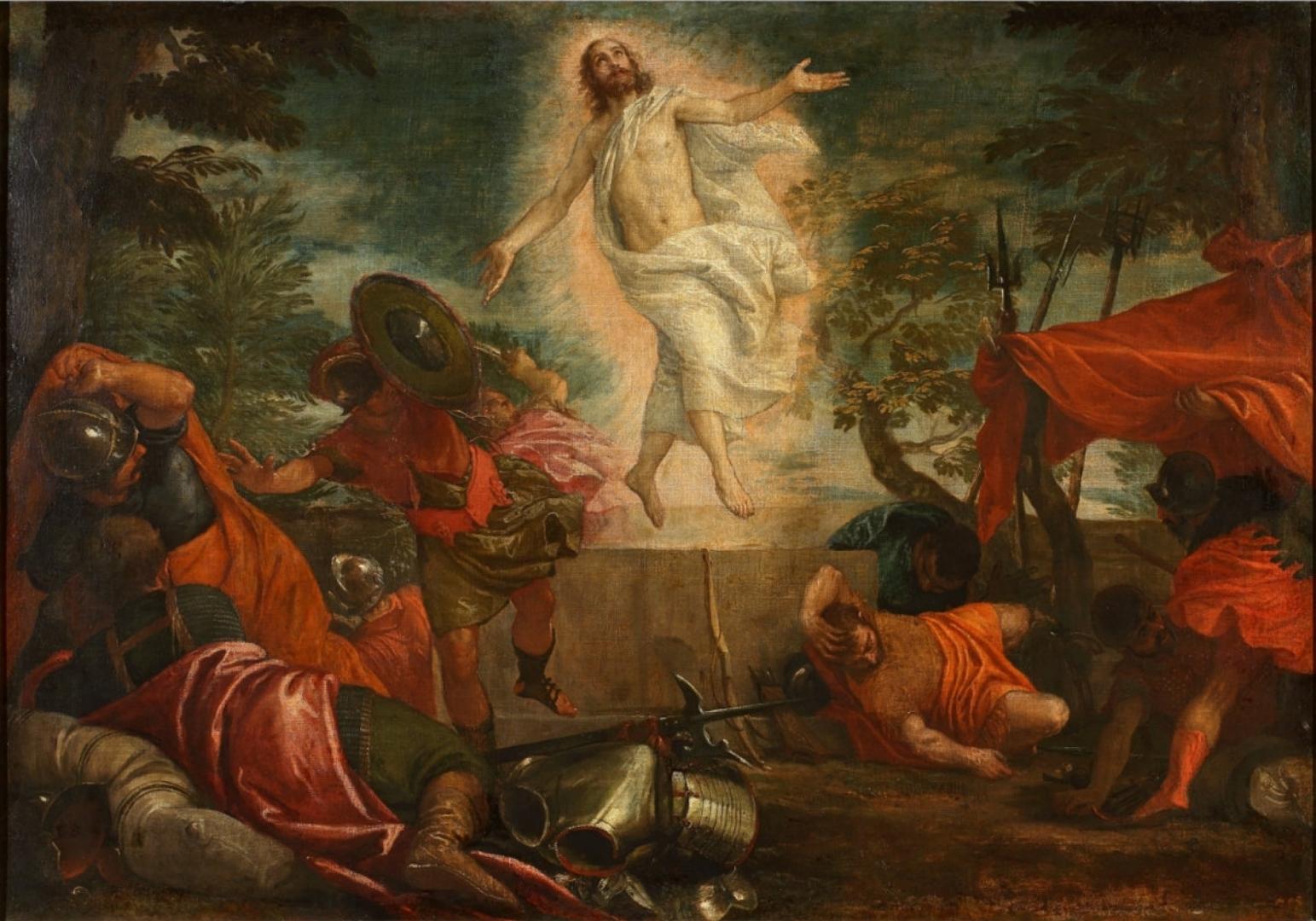 Паоло Веронезе. Воскресение Христа. 1580
