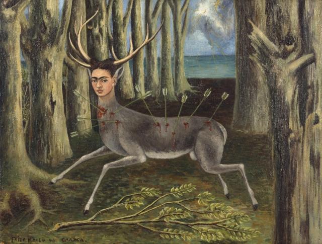 Фрида Кало. Раненый олень. 1946