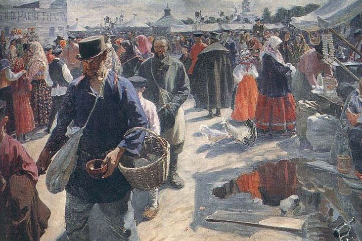 Иван Куликов. Ярмарка в Муроме. 1910—1912
