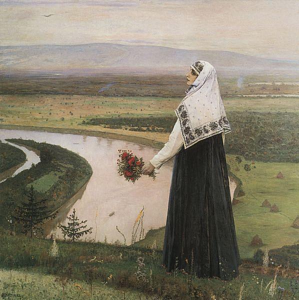 Михаил Нестеров. На горах. 1896