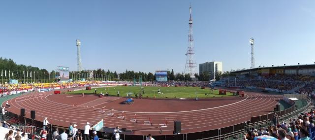 Стадион в Чебоксарах