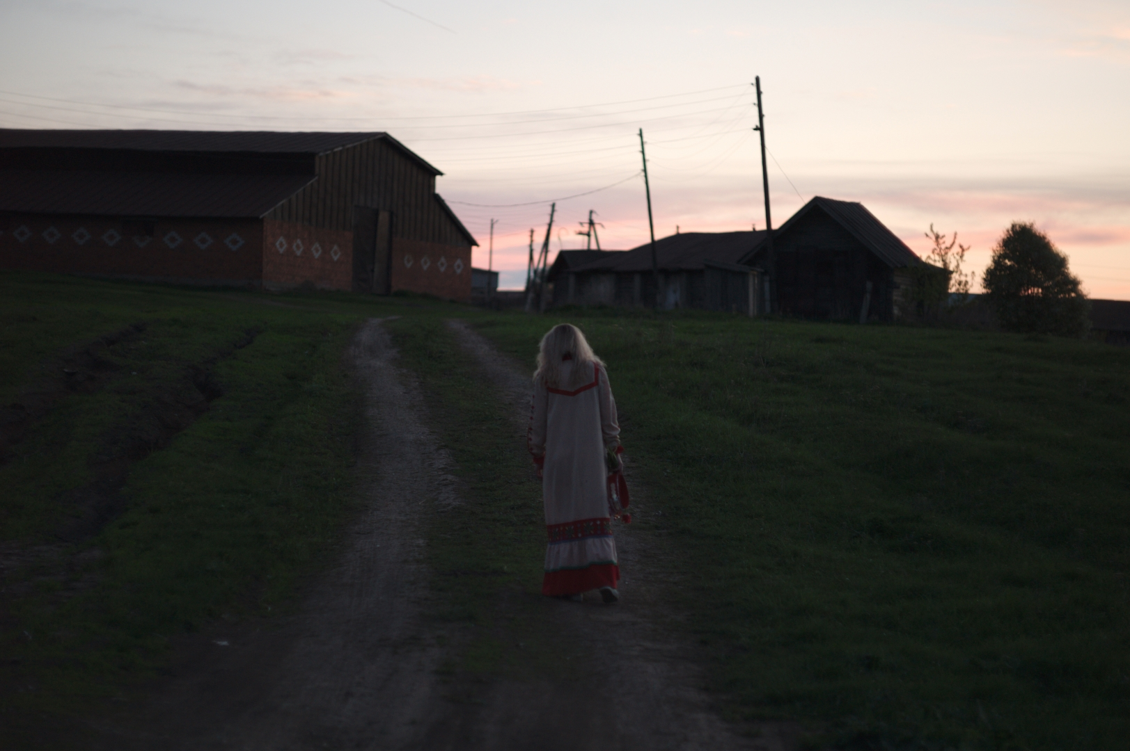 Предпраздничный вечер в Шимкусах