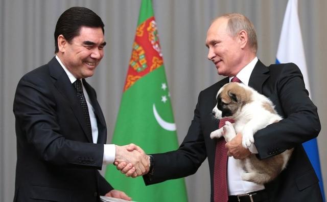 Российско-туркменские отношения. Встреча на высшем уровне