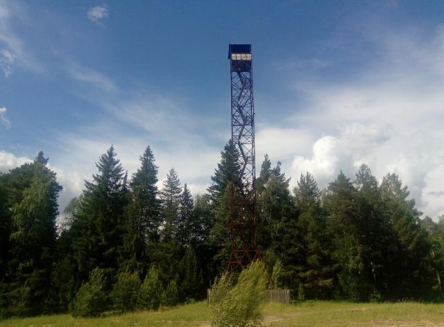 Пожарная башня у Куяра, Марийская республика