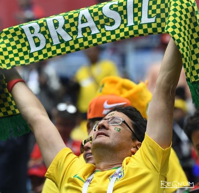 Не спеши нас хоронить: Бразилия отыгрывает один мяч в матче с Бельгией