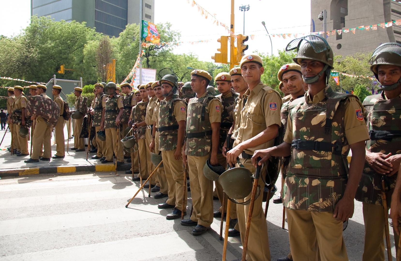 Полиция Индии