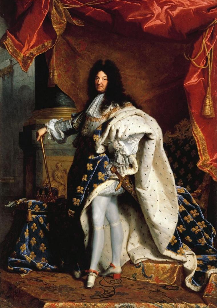 Гиацинт Риго. Портрет Людовика XIV. 1701