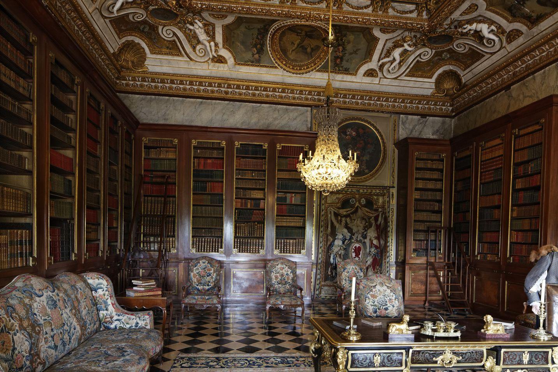 Библиотека дворца
