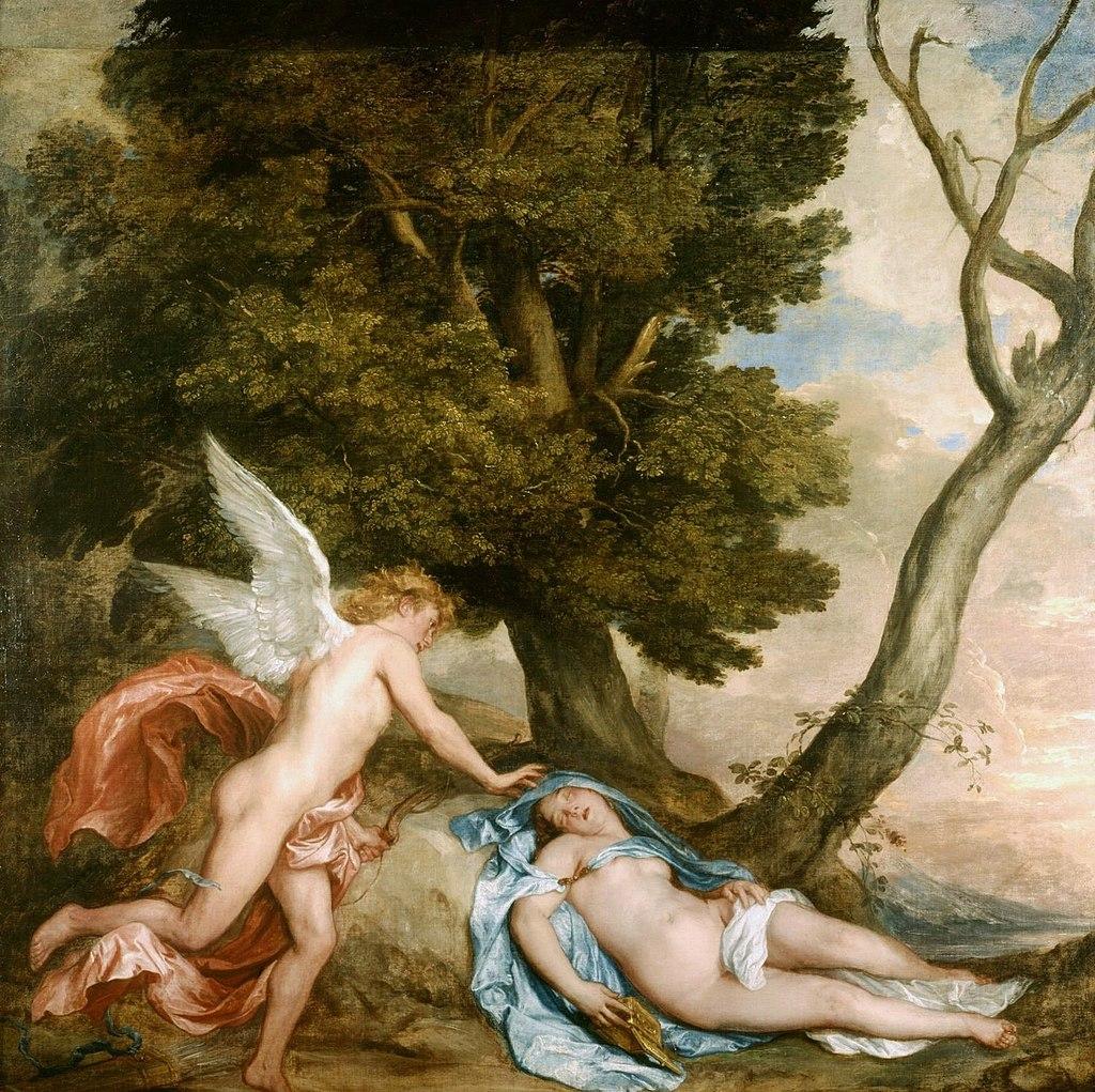 Антонис Ван Дейк. Амур и Психея. 1628