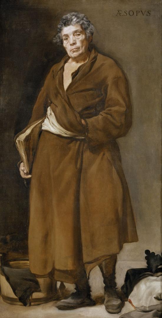 Диего Веласкес. Эзоп. 1638