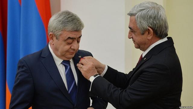 Брат экс-президента Армении не задекларировал $7 млн: он объявлен в розыск