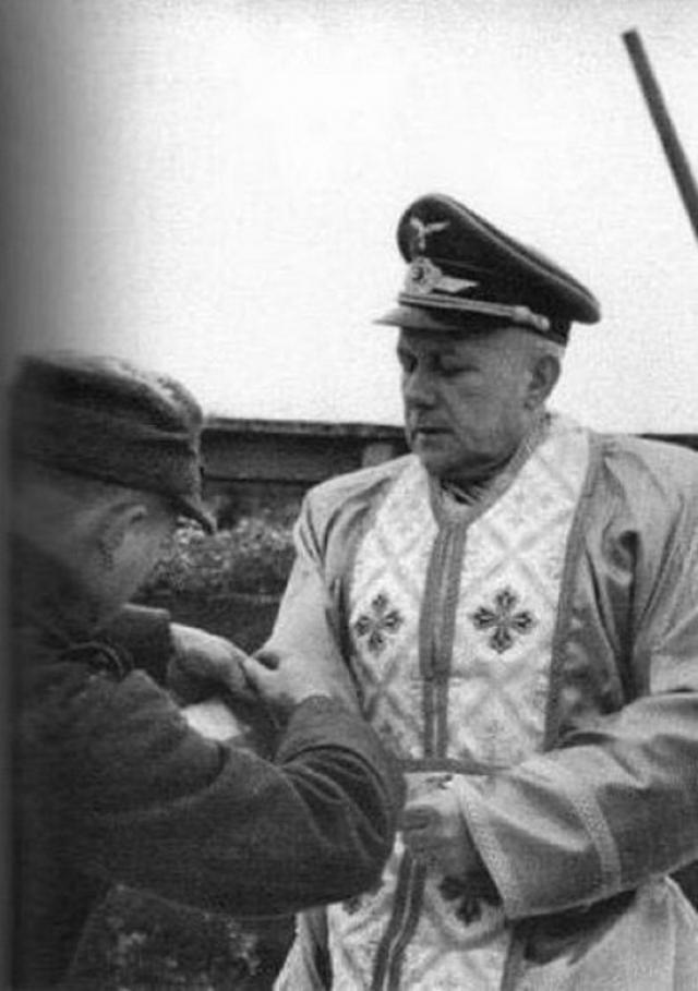 Греко-католический священник на службе III Рейху