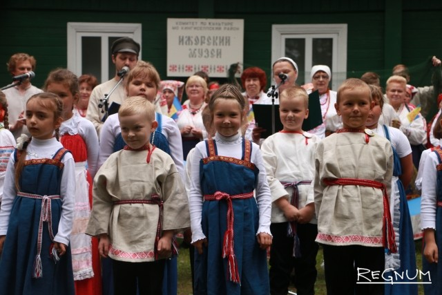 Воспитанники программ Ижорского музея