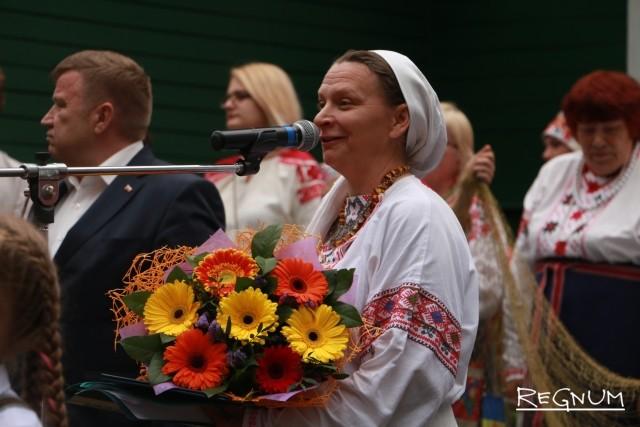 Директор Ижорского музея Елена Кострова