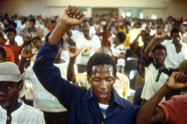 Черные борцы за отмену апартеида. ЮАР